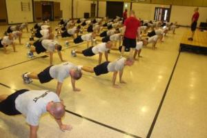72nd Academy Push-ups